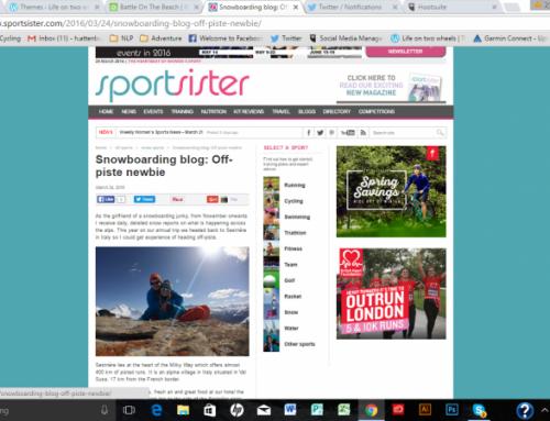 Snowboarding blog: Off-piste newbie – Sport Sister