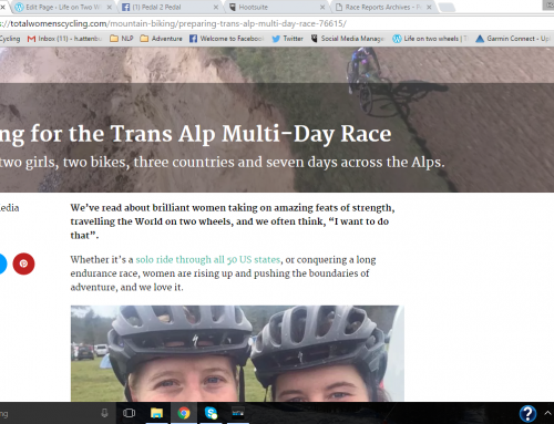 Preparing for the Trans Alp Multi-Day Race – Total Womens Cycling