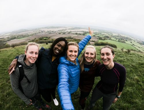 A nutty adventure on the South Downs