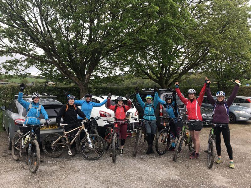 womens mountain bike weekend