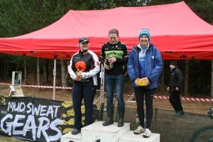 Mud sweat and gears round one podium