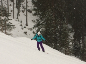 Snowboarding Mayrhofen