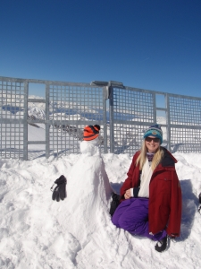 Hintertux snowman