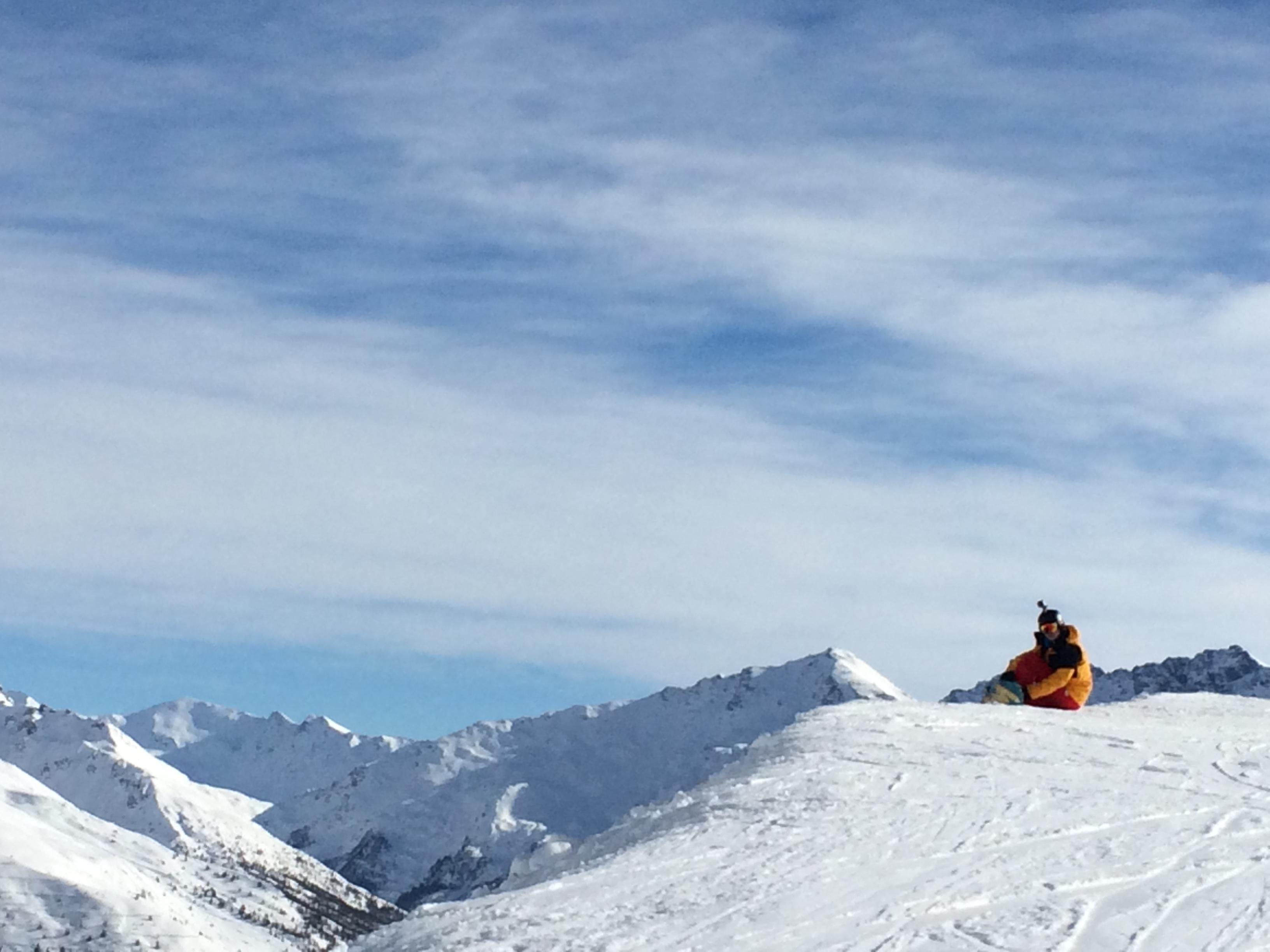 Snowboarding Sestriere 2015
