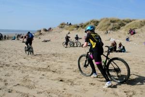 Battle on the Beach soft sand push