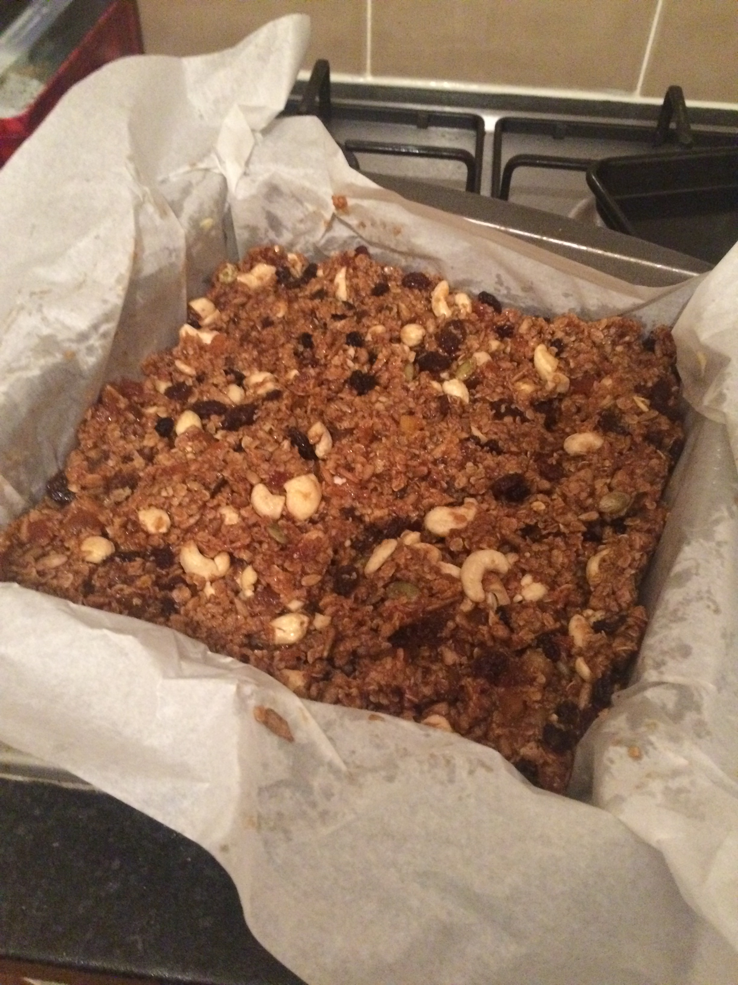 Apricot and Nut bars