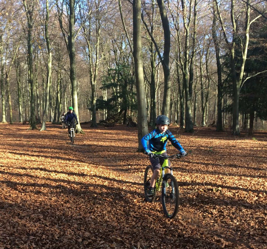 Coaching Session – Pumping the trail