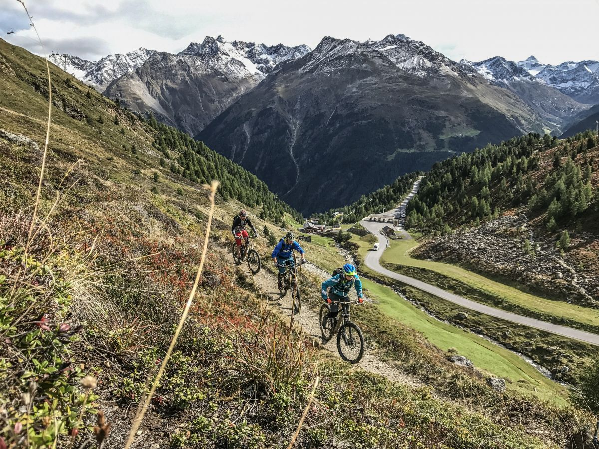 6 Top Mountain Bike Destinations in the Alps