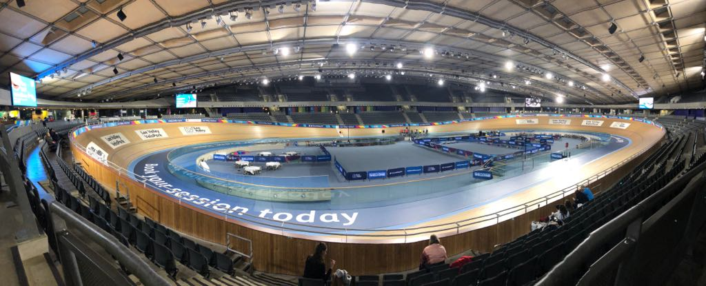 Cycling in circles, a trip to the Velodrome