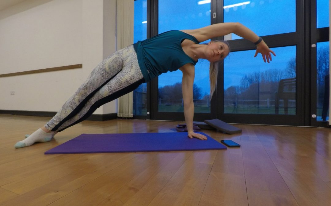 Pilates Side Bend