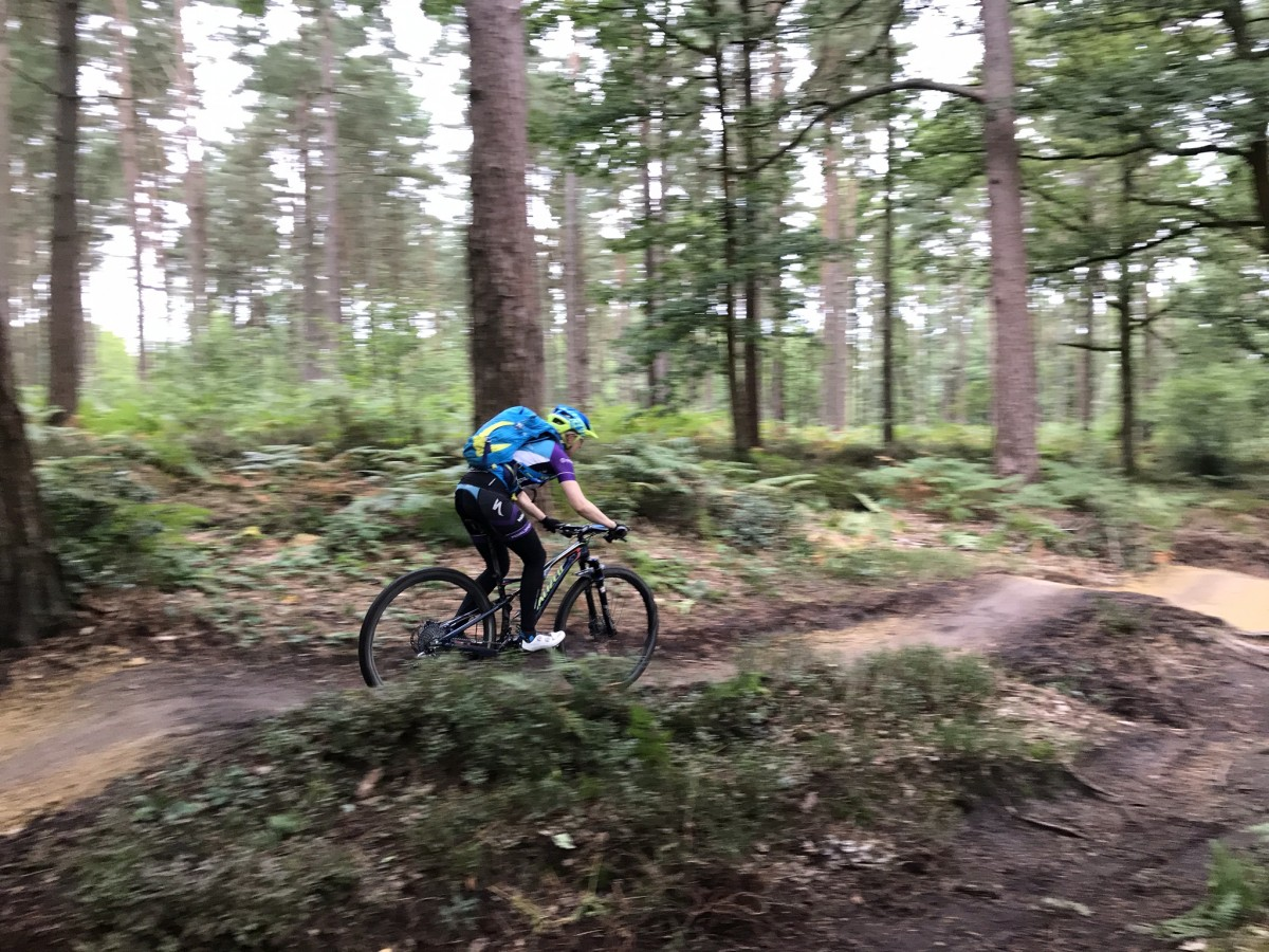 Surrey Hills mountain biking