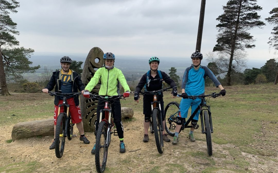 Surrey Hills Mountain Bike Weekend