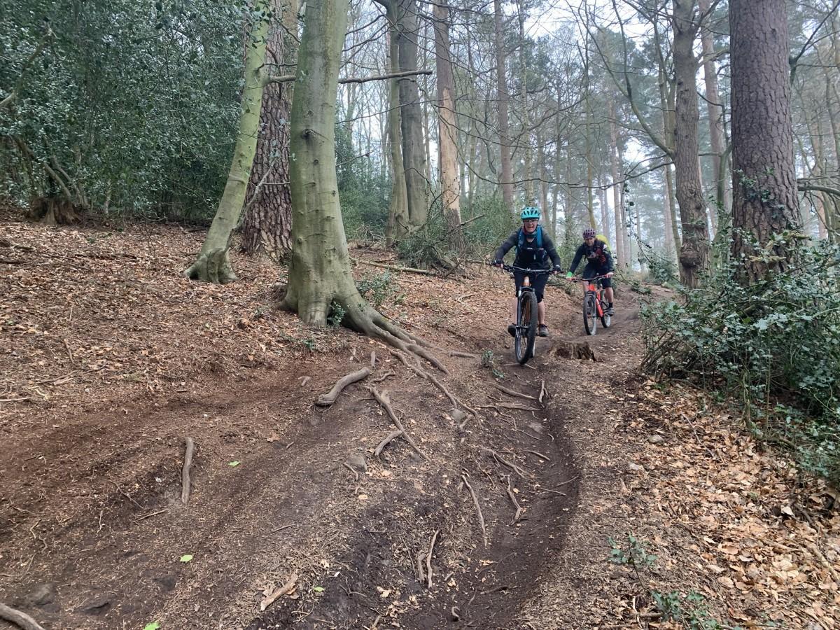 mountain bike coaching surrey hills