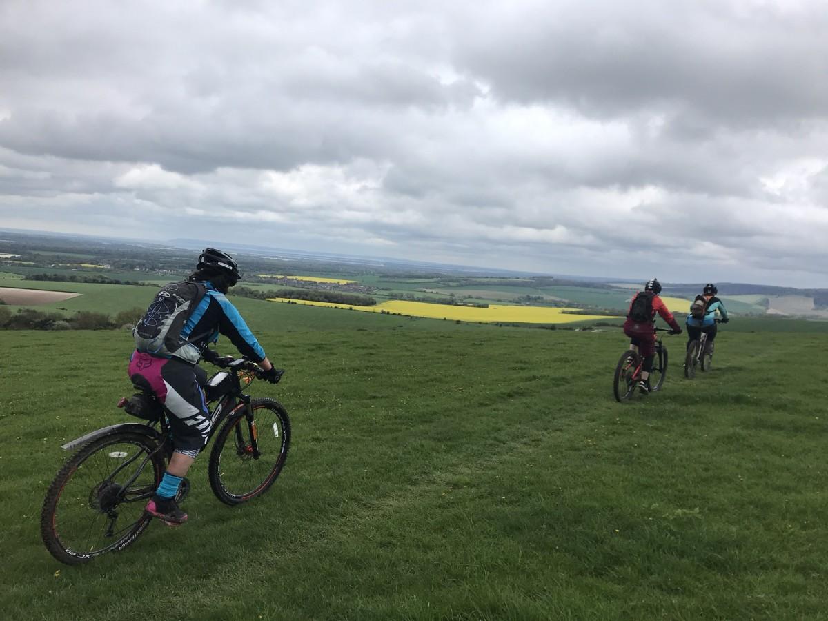 mountain biking south downs