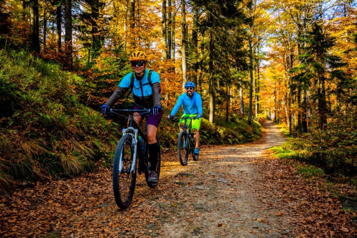 corporate mountain biking