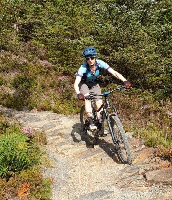 Mountain Bike Coaching Tip – Heavy Feet, Light Hands
