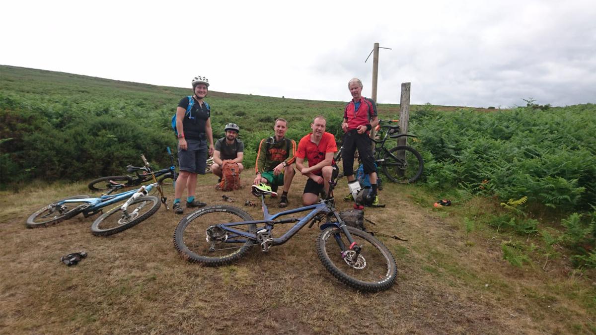 mountain bike quantocks