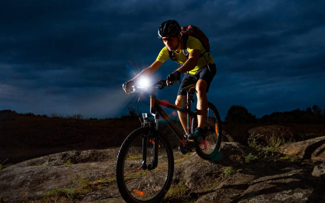 Ever Tried Mountain Biking After Dark?