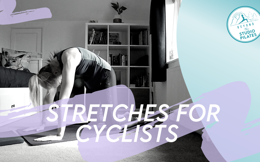 Pilates stretches for cyclists